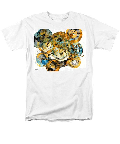 Men's T-Shirt  (Regular Fit) featuring the painting Sunrise - 991.042212 by Kris Haas