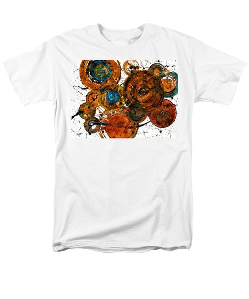 Men's T-Shirt  (Regular Fit) featuring the painting Sunset - 1274.121412 by Kris Haas