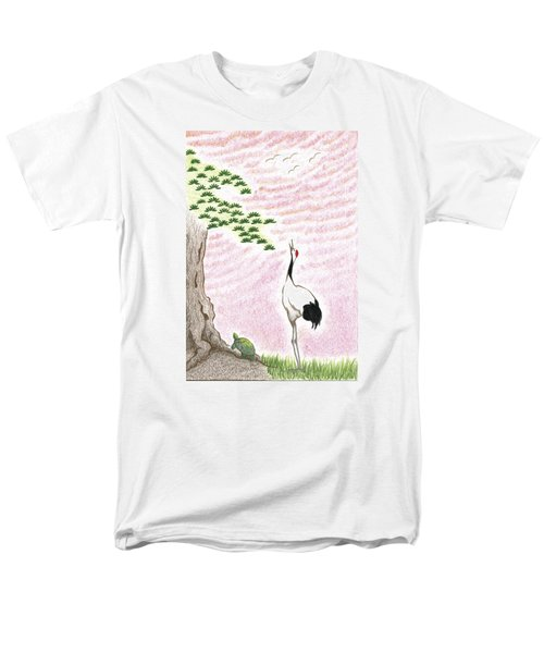 Sunset Men's T-Shirt  (Regular Fit) by Keiko Katsuta
