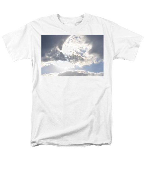 Men's T-Shirt  (Regular Fit) featuring the photograph Sunshine Through The Clouds by Tara Potts