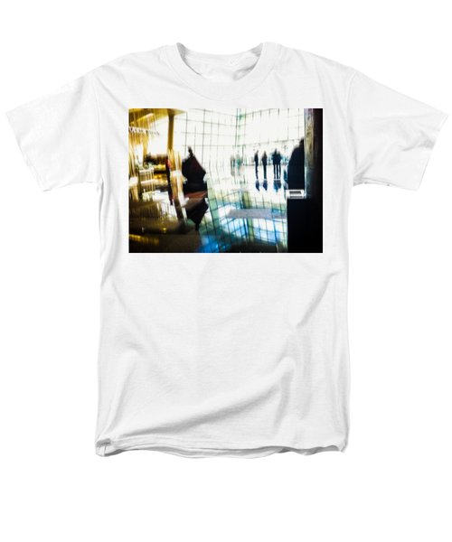Men's T-Shirt  (Regular Fit) featuring the photograph Suspended In Light by Alex Lapidus