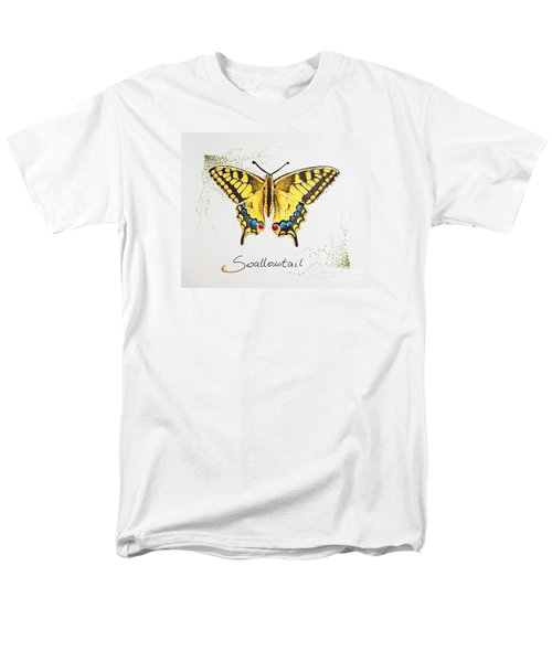 Swallowtail - Butterfly Men's T-Shirt  (Regular Fit) by Katharina Filus