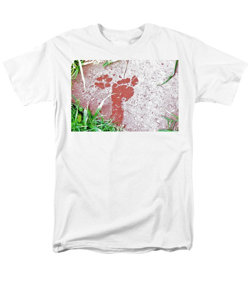 Men's T-Shirt  (Regular Fit) featuring the photograph Sweet Steps by Charlotte Schafer