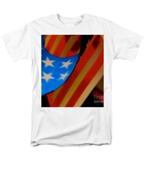 Swirled Stars Men's T-Shirt  (Regular Fit) by Cathy Dee Janes