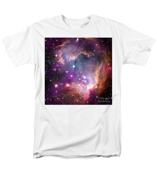 Men's T-Shirt  (Regular Fit) featuring the  Taken Under The Wing Of The Small Magellanic Cloud by Paul Fearn