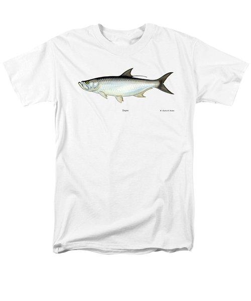 Tarpon Men's T-Shirt  (Regular Fit) by Charles Harden