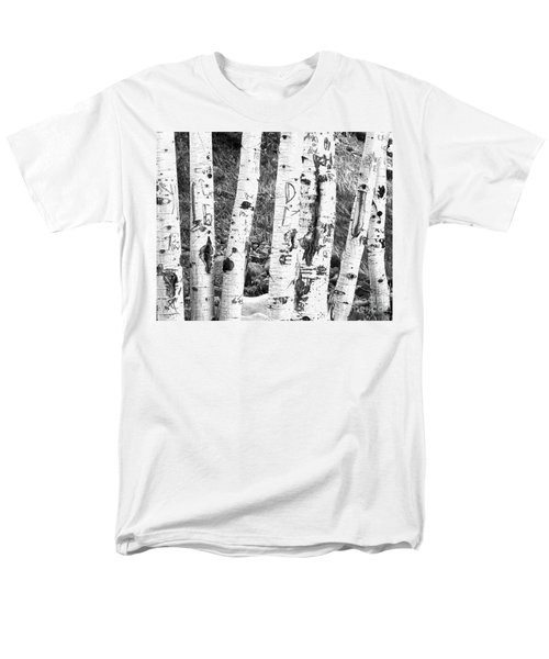 Tattoo Trees Men's T-Shirt  (Regular Fit) by Rebecca Margraf