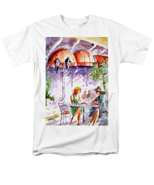 Men's T-Shirt  (Regular Fit) featuring the painting Tea Time...  by Faruk Koksal