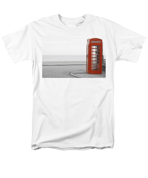 Telephone Booth Men's T-Shirt  (Regular Fit)