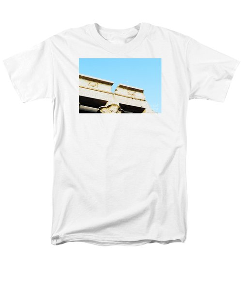 Men's T-Shirt  (Regular Fit) featuring the photograph Temple At Luxor by Cassandra Buckley