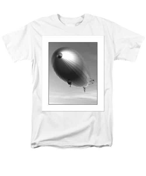 Men's T-Shirt  (Regular Fit) featuring the digital art The Blimp... by Tim Fillingim