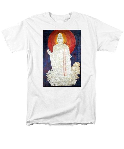 Men's T-Shirt  (Regular Fit) featuring the painting The Buddha's Light by Fei A