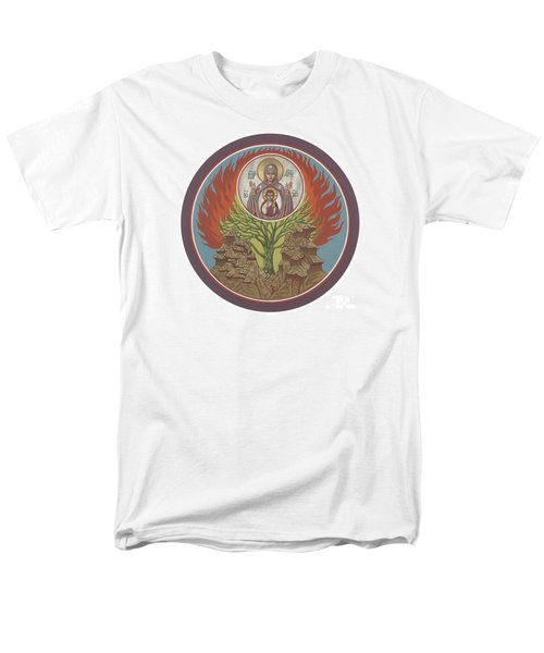Men's T-Shirt  (Regular Fit) featuring the painting The Burning Bush 249 by William Hart McNichols