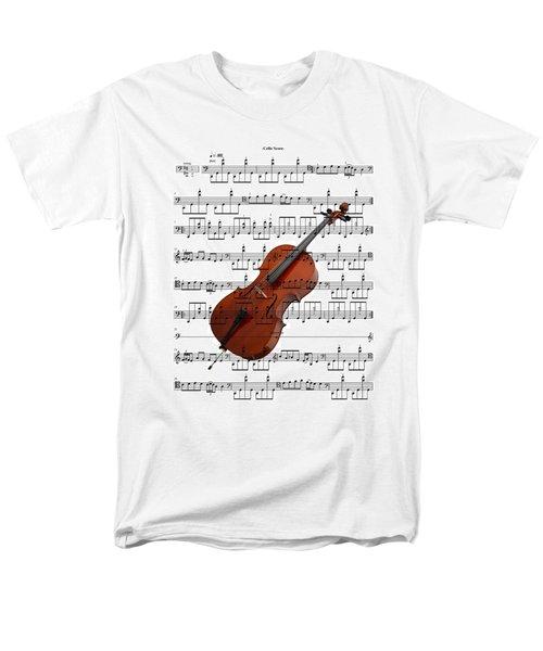 The Cello Men's T-Shirt  (Regular Fit) by Ron Davidson