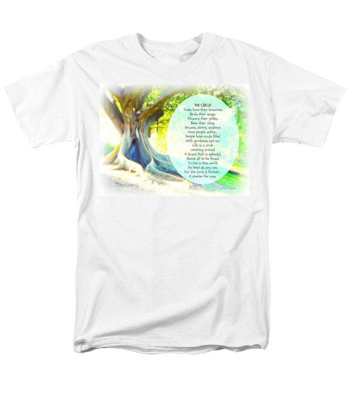 Men's T-Shirt  (Regular Fit) featuring the photograph The Circle by Leanne Seymour