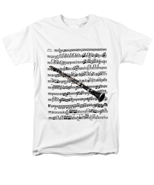 The Clarinet Men's T-Shirt  (Regular Fit) by Ron Davidson