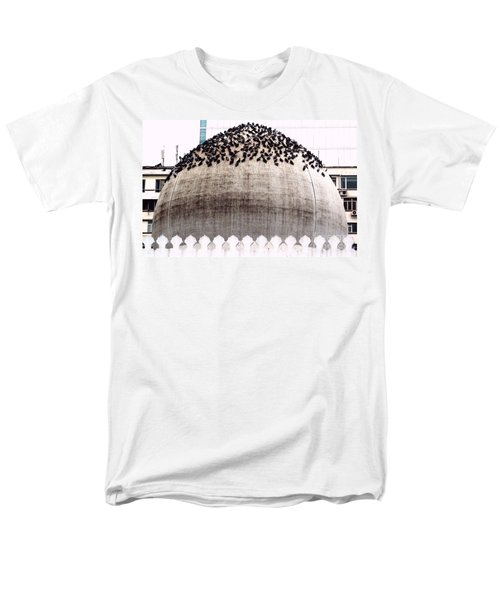 Men's T-Shirt  (Regular Fit) featuring the photograph The Dome Of The Mosque by Ethna Gillespie