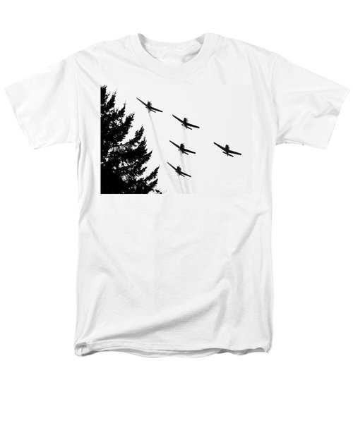 The Fly Past Men's T-Shirt  (Regular Fit)