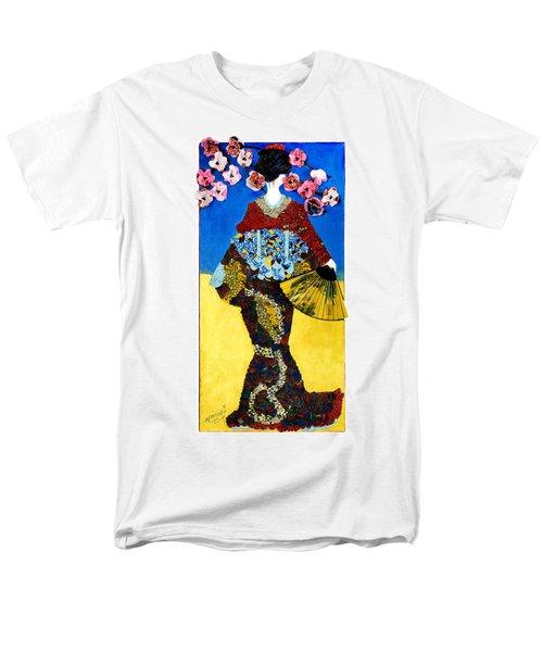 The Geisha Men's T-Shirt  (Regular Fit) by Apanaki Temitayo M