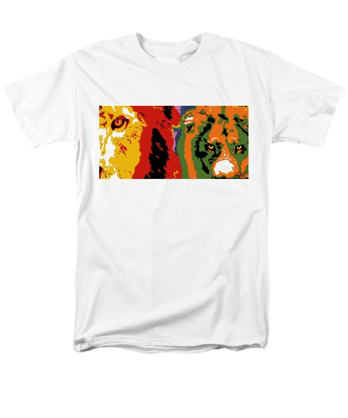 The Ghost And The Darkness Men's T-Shirt  (Regular Fit) by Dale Loos Jr