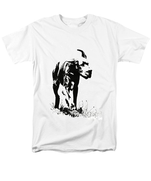 The Great Dane Men's T-Shirt  (Regular Fit) by Kate Black