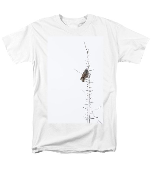 The Grey Hunter On White Men's T-Shirt  (Regular Fit) by Mircea Costina Photography