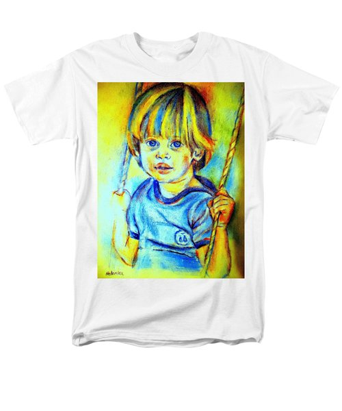 Men's T-Shirt  (Regular Fit) featuring the drawing The Hammock by Helena Wierzbicki