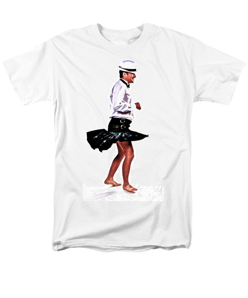 Men's T-Shirt  (Regular Fit) featuring the photograph The Happy Dance by Xn Tyler