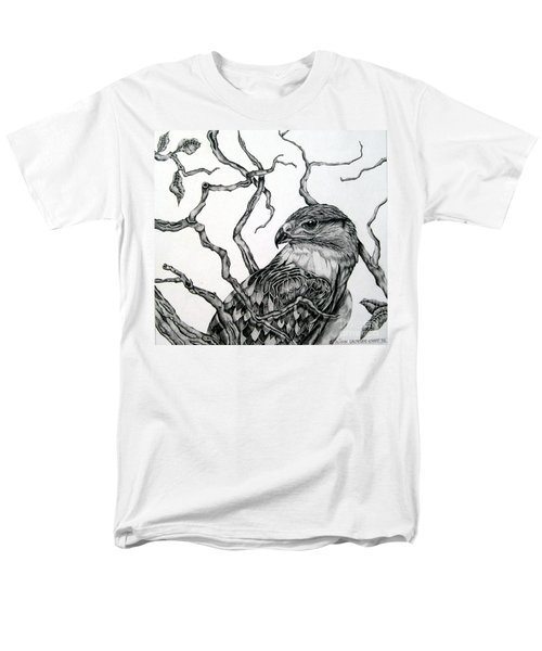 The Hawk Men's T-Shirt  (Regular Fit) by Alison Caltrider