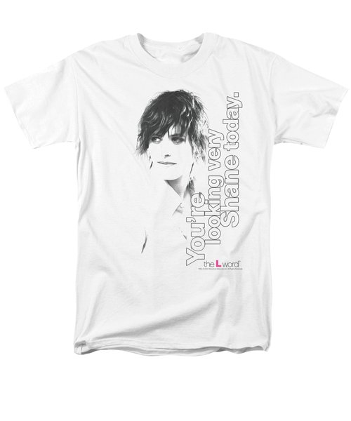 The L Word - Looking Shane Today Men's T-Shirt  (Regular Fit)