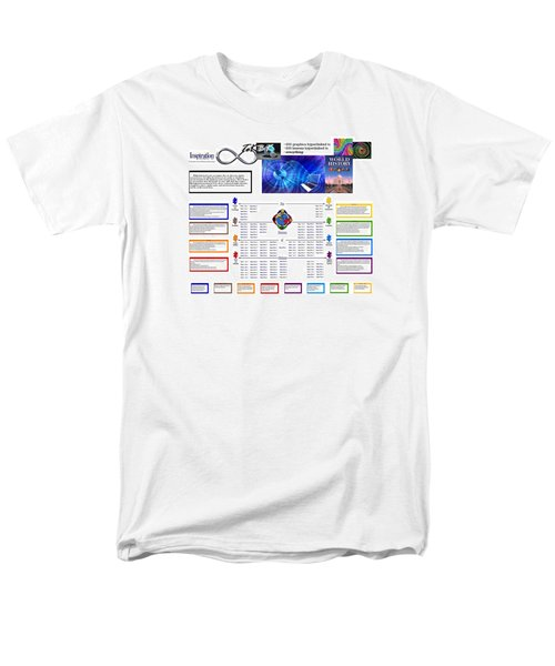 Lightspeed Reading  Men's T-Shirt  (Regular Fit) by Peter Hedding