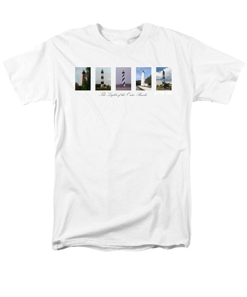The Lights Of The Outer Banks Men's T-Shirt  (Regular Fit) by Tony Cooper
