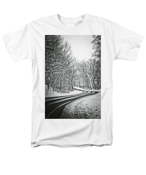 The Long Road Of Winter Men's T-Shirt  (Regular Fit)