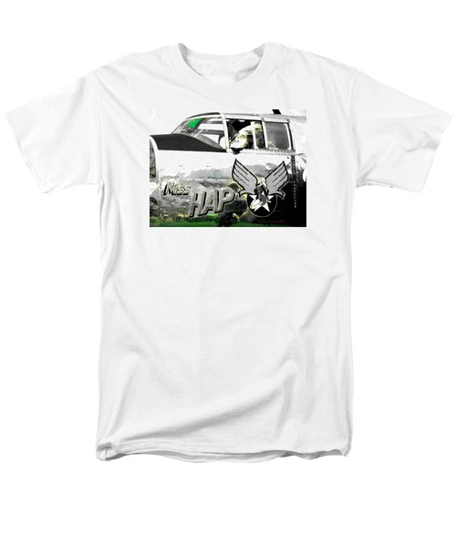 Men's T-Shirt  (Regular Fit) featuring the photograph The Miss Hap by Kathy Barney