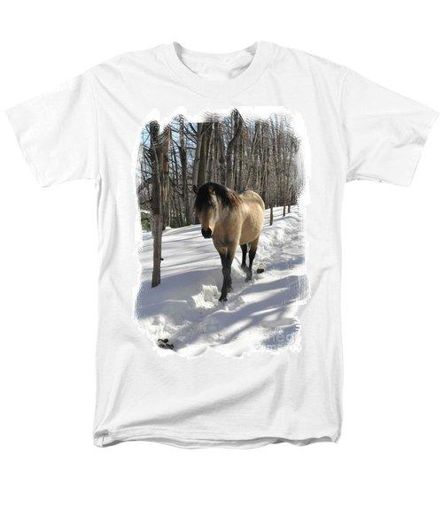The Paso Fino Stallion Named Brio Men's T-Shirt  (Regular Fit) by Patricia Keller