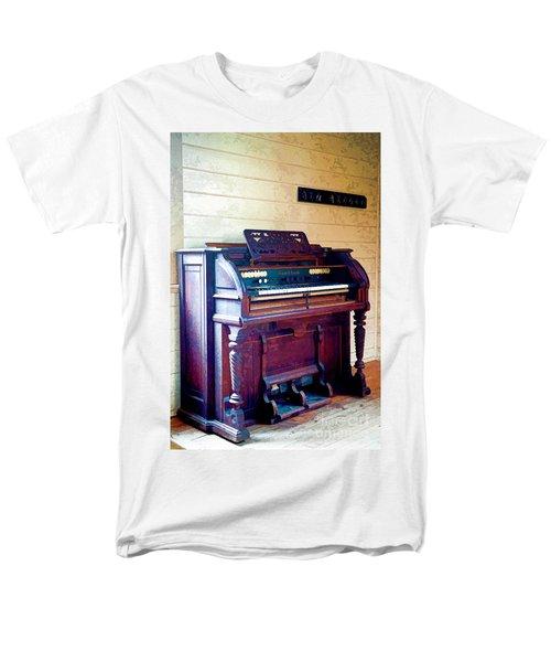 The Piano Men's T-Shirt  (Regular Fit) by Yew Kwang