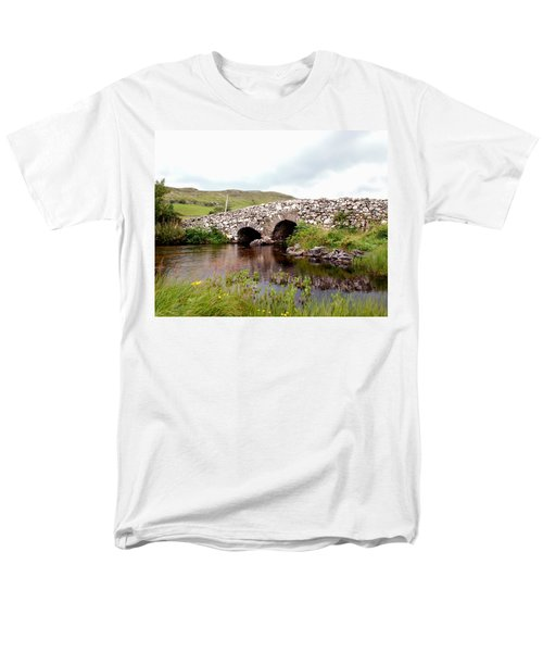 The Quiet Man Bridge Men's T-Shirt  (Regular Fit) by Charlie and Norma Brock