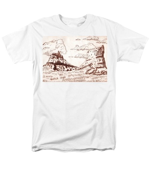 The Rocks Men's T-Shirt  (Regular Fit) by Dustin Miller