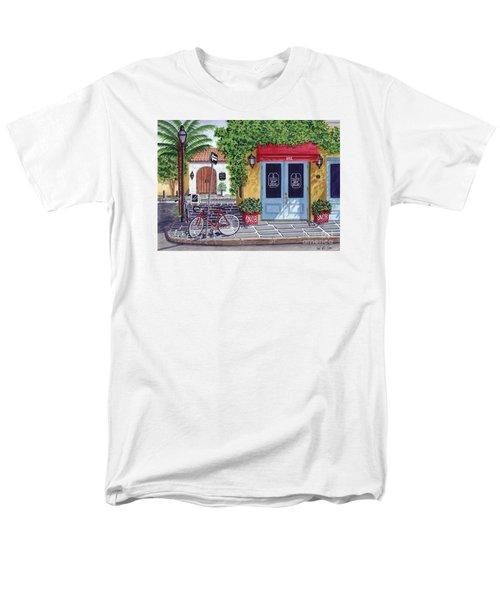 The Snob Restaurant Men's T-Shirt  (Regular Fit) by Val Miller