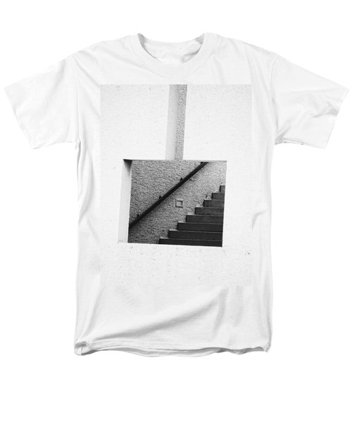 The Stairs In The Square Men's T-Shirt  (Regular Fit) by David Pantuso