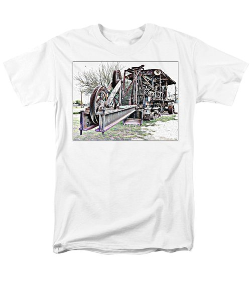 Men's T-Shirt  (Regular Fit) featuring the photograph The Steam Shovel by Glenn McCarthy Art and Photography
