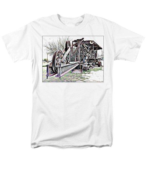 The Steam Shovel Men's T-Shirt  (Regular Fit) by Glenn McCarthy Art and Photography