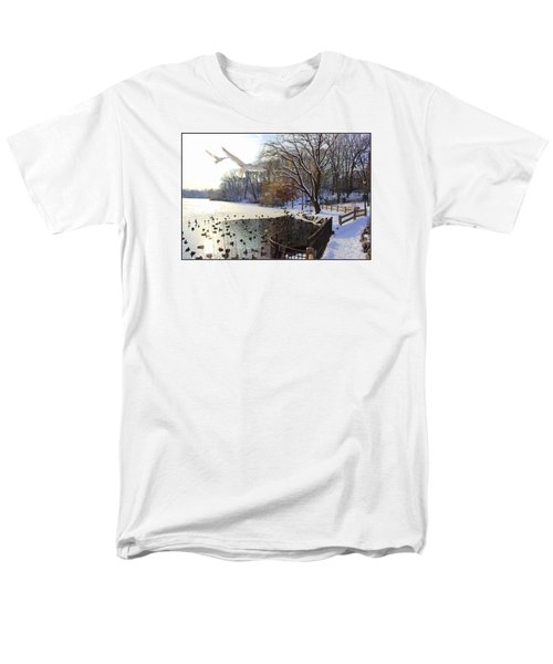 The End Of The Storm Men's T-Shirt  (Regular Fit) by Dora Sofia Caputo Photographic Art and Design