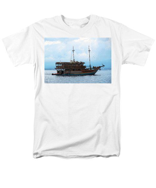The Trip To Bunaken Men's T-Shirt  (Regular Fit) by Sergey Lukashin