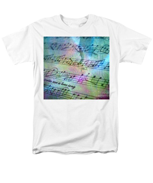This Song's For You Men's T-Shirt  (Regular Fit) by Irma BACKELANT GALLERIES