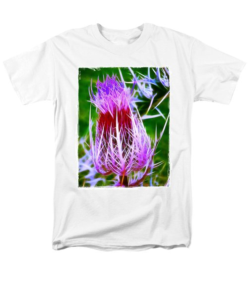 Thistle Men's T-Shirt  (Regular Fit) by Judi Bagwell