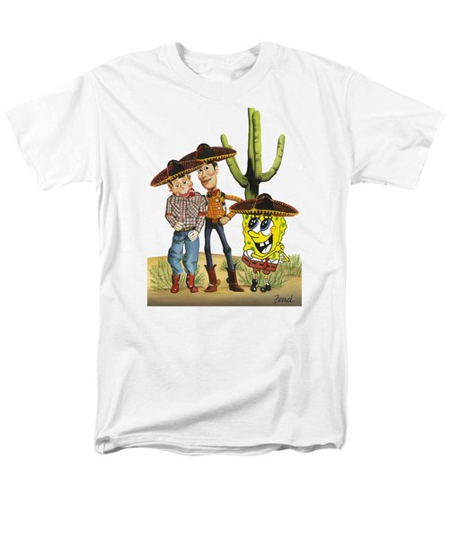 Three Amigos Men's T-Shirt  (Regular Fit) by Ferrel Cordle