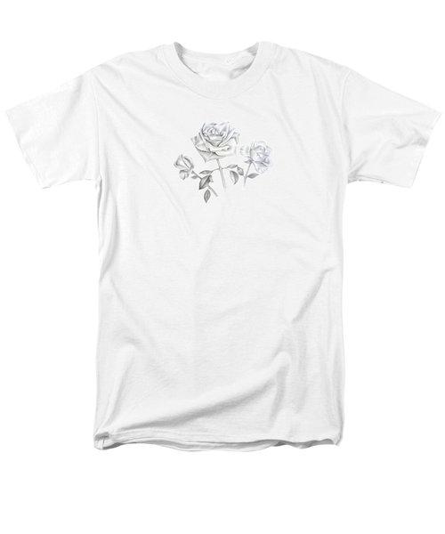Three Roses Men's T-Shirt  (Regular Fit) by Elizabeth Lock