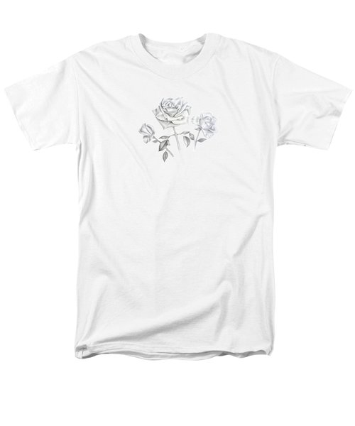 Three Roses Men's T-Shirt  (Regular Fit)