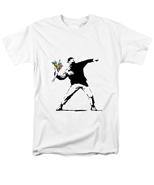 Throwing Love Men's T-Shirt  (Regular Fit) by Munir Alawi